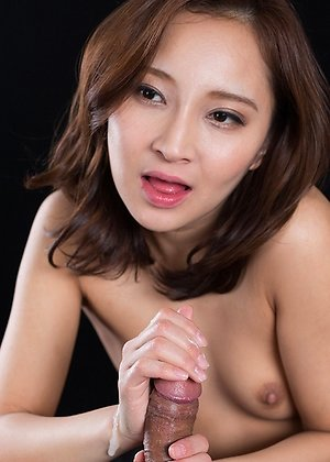 cum in mouth, handjob, sperm licking, uika hoshikawa,